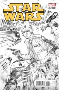 Star Wars #8 (Stuart Immonen Sketch Variant Cover) (19.08.2015)
