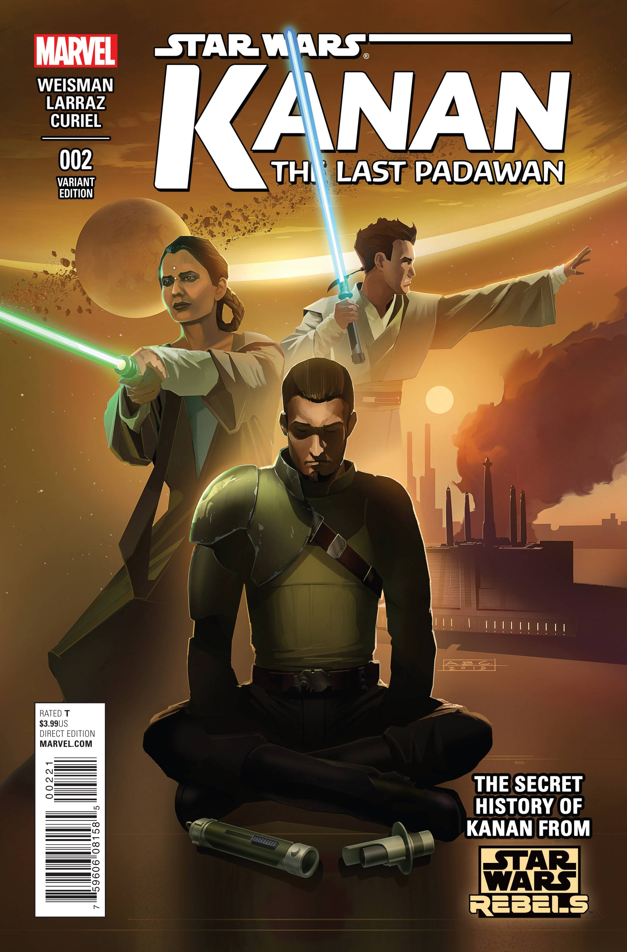 Kanan: The Last Padawan #2 (Amy Beth Christenson Variant Cover) (06.05.2015)