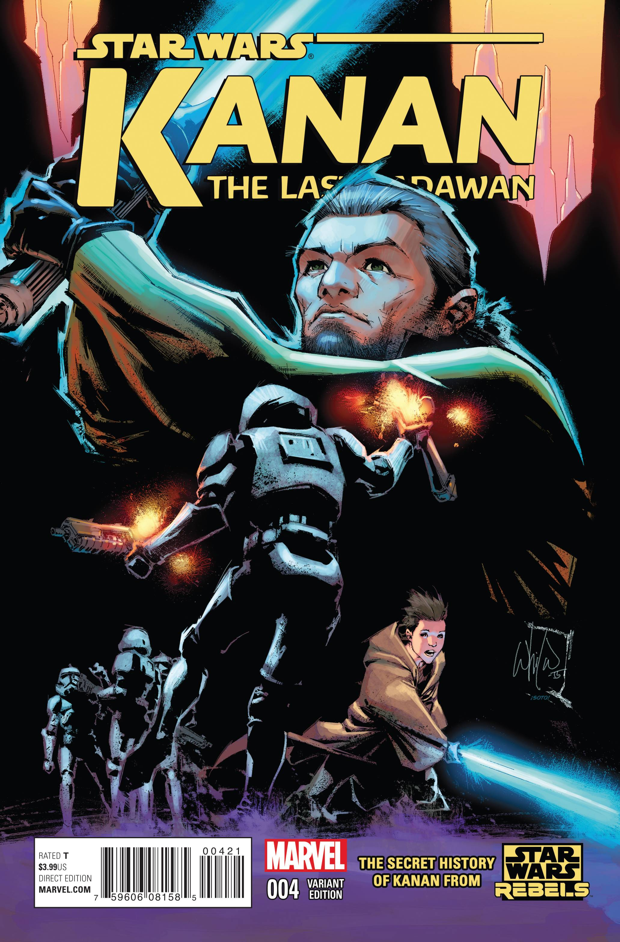 Kanan: The Last Padawan #4 (Whilce Portacio Variant Cover) (22.07.2015)