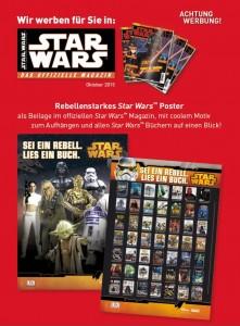 Posterbeilage zum Offiziellen Star Wars Magazin #79 im Oktober