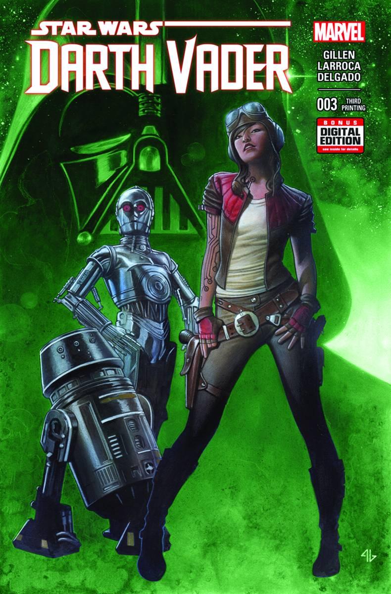 Darth Vader #3 (3rd Printing) (24.06.2015)