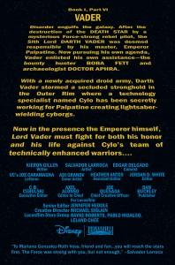 Darth Vader #6 Vorschauseite 1