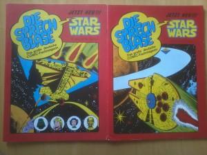 Die Sprechblase - Hefte mit Star Wars Cover