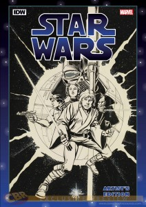 Star Wars Artist's Edition - Artwork von Howard Chaykin und Tom Palmer