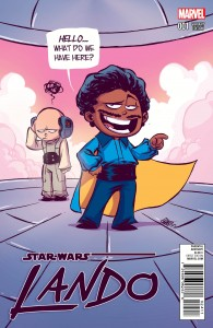 Lando #1 (Skottie Young Variant Cover) (08.07.2015)