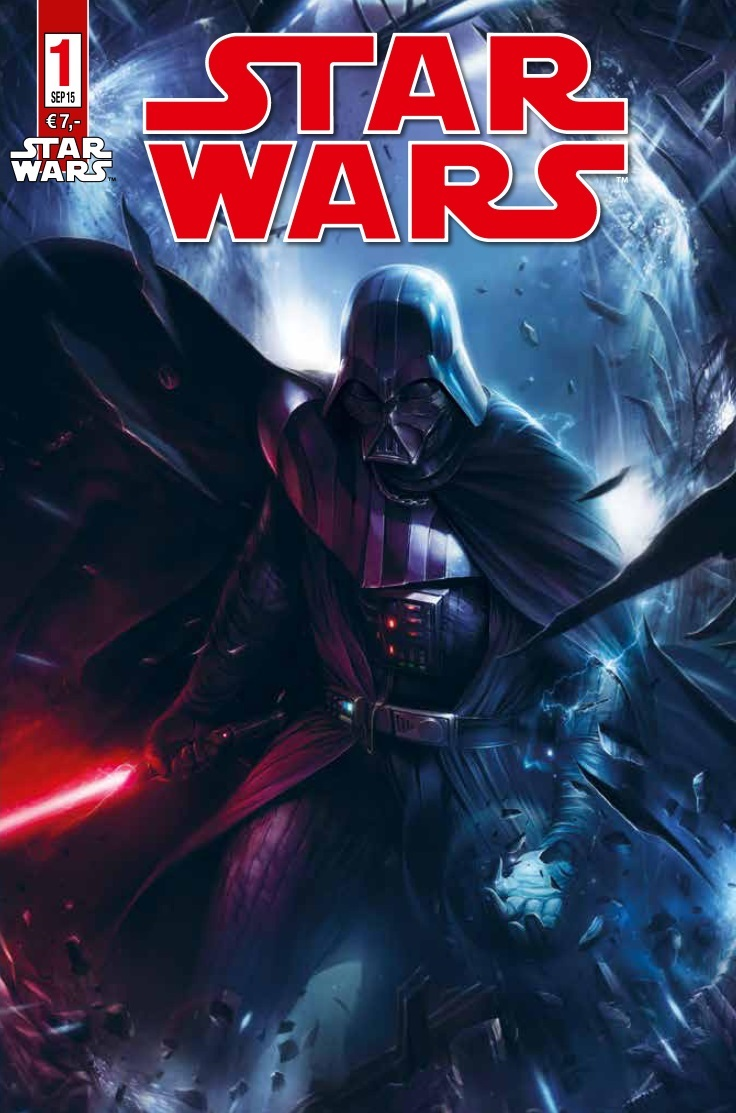 Star Wars #1 (Variantcover A von Francesco Mattina) (22.08.2015)