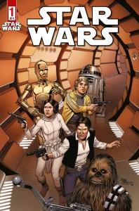 Star Wars #1 (Variantcover F von Bob McLeod) (22.08.2015)