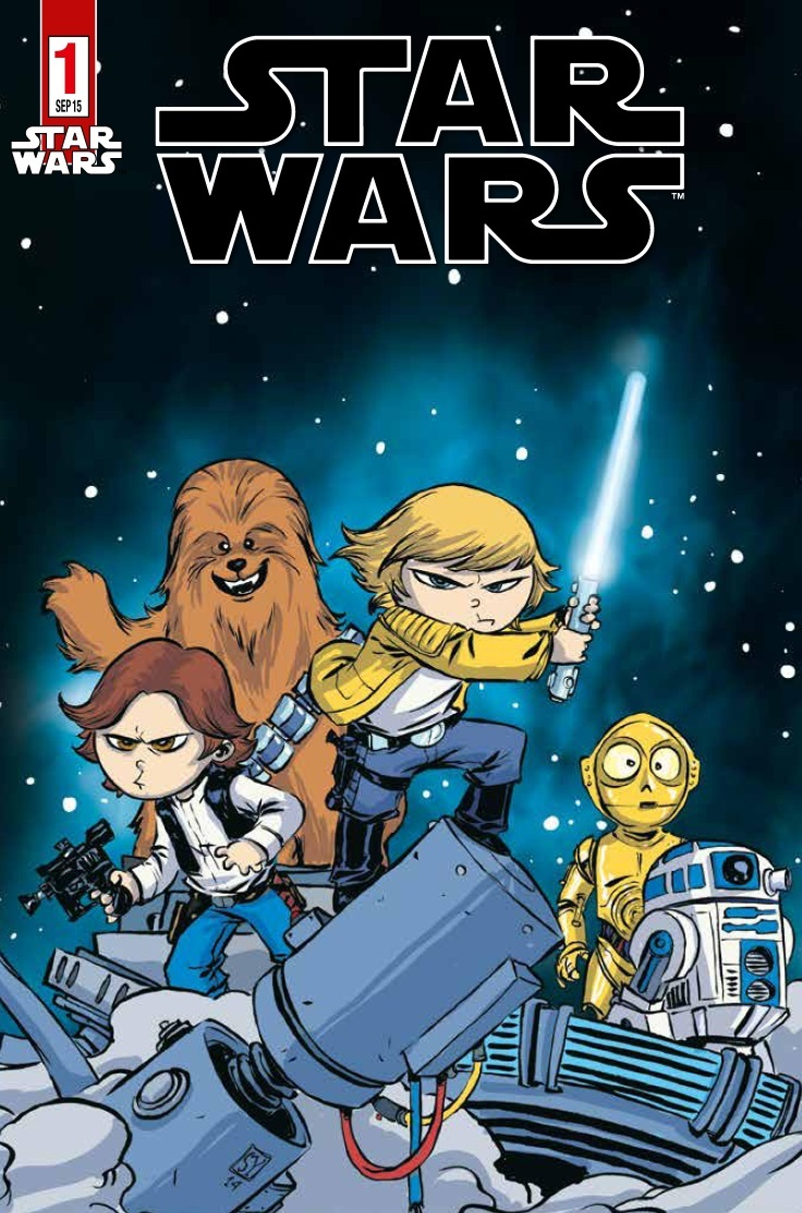 Star Wars #1 (Variantcover G von Skottie Young) (22.08.2015)