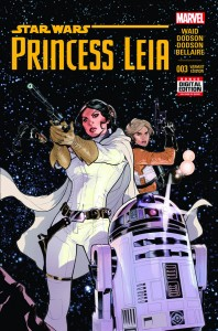 Princess Leia #3 (2nd Printing) (10.06.2015)
