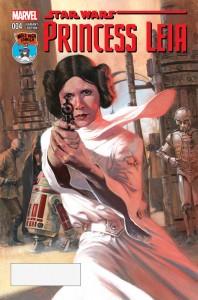 Princess Leia #4 (Gabriele Dell'Otto Mile High Comics Variant Cover) (03.06.2015)