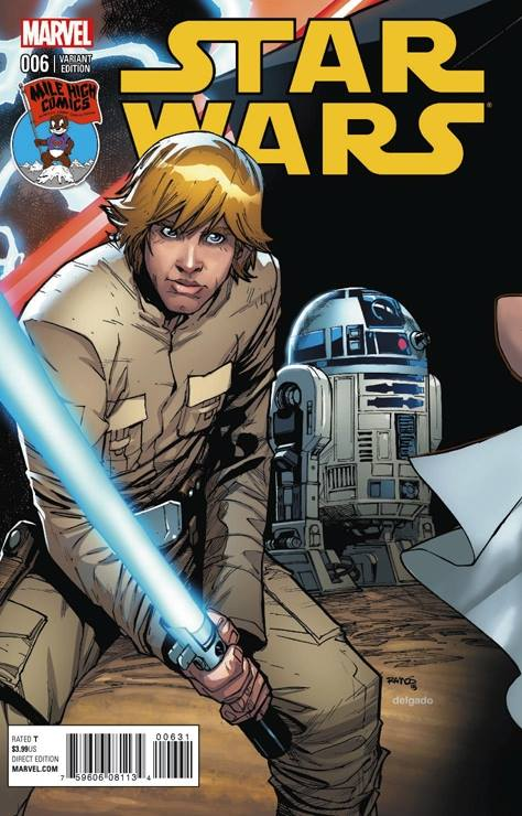 Star Wars #6 (Humberto Ramos Mile High Comics Connecting Variant Cover) (03.06.2015)