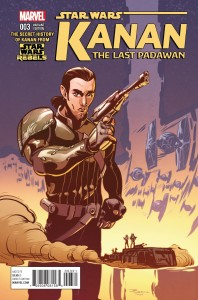 Kanan: The Last Padawan #3 (Bosco Ng Variant Cover) (10.06.2015)