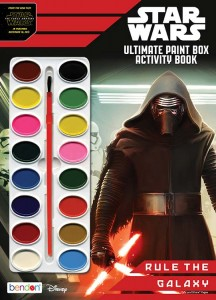 Star Wars: The Force Awakens: Rule the Galaxy - Ultimate Paint Box Book to Color (04.09.2015)