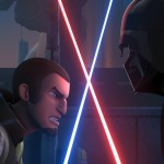 Kanan und Vader in Star Wars Rebels Staffel 2