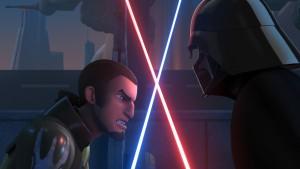 Kanan und Vader in Star Wars Rebels Staffel 2