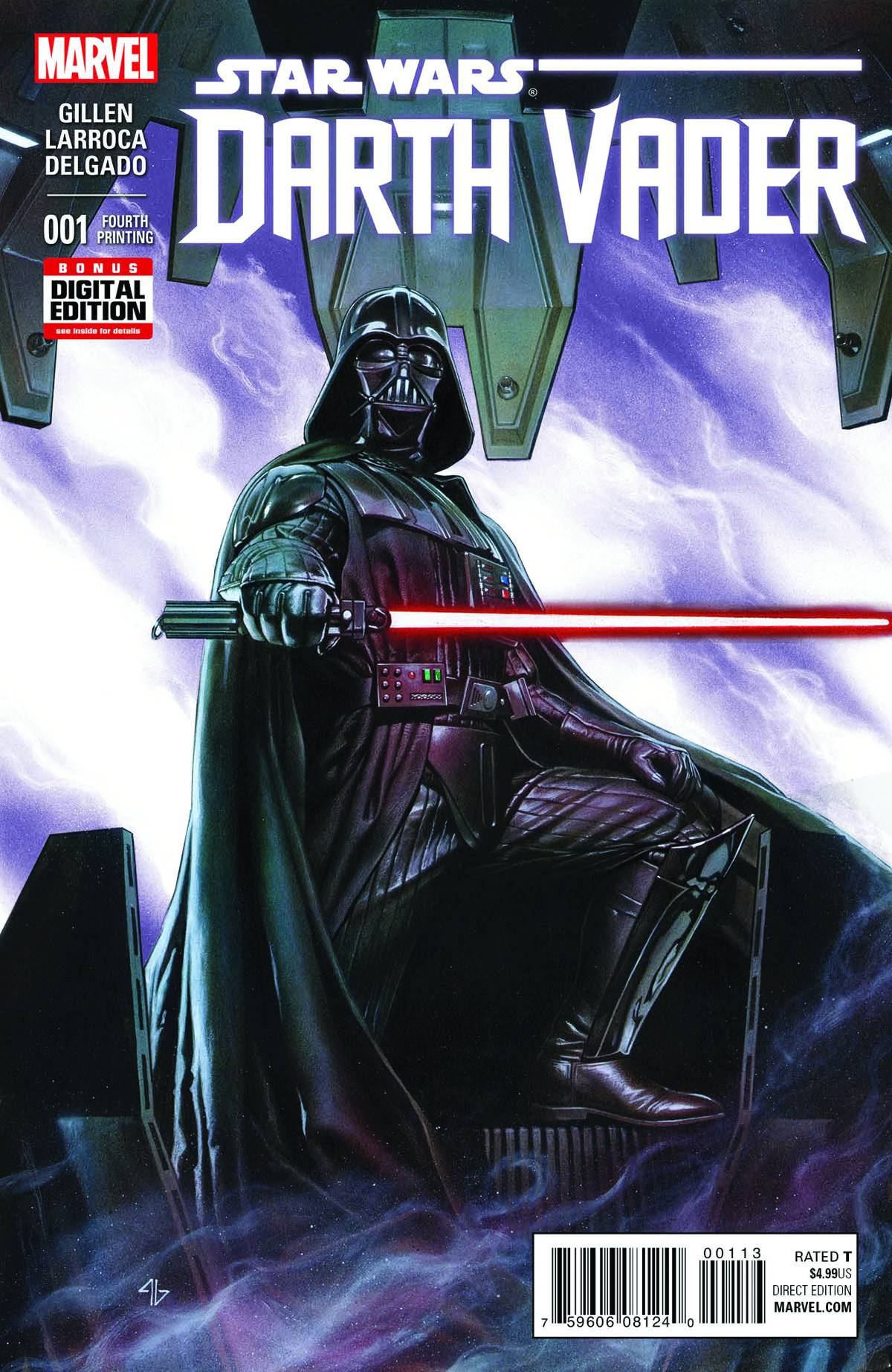 Darth Vader #1 (4th Printing) (08.07.2015)