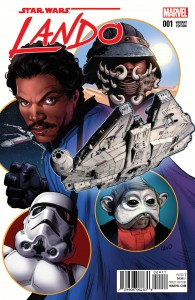 Lando #1 (Greg Land Variant Cover) (08.07.2015)