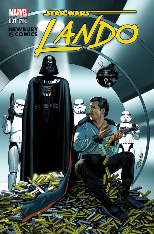Lando #1 (Mike Mayhew Newbury Comics Variant Cover) (08.07.2015)