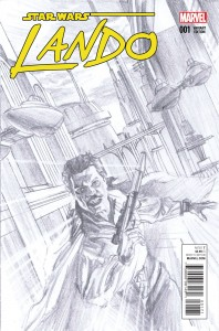 Lando #1 (Alex Ross Sketch Variant Cover) (08.07.2015)