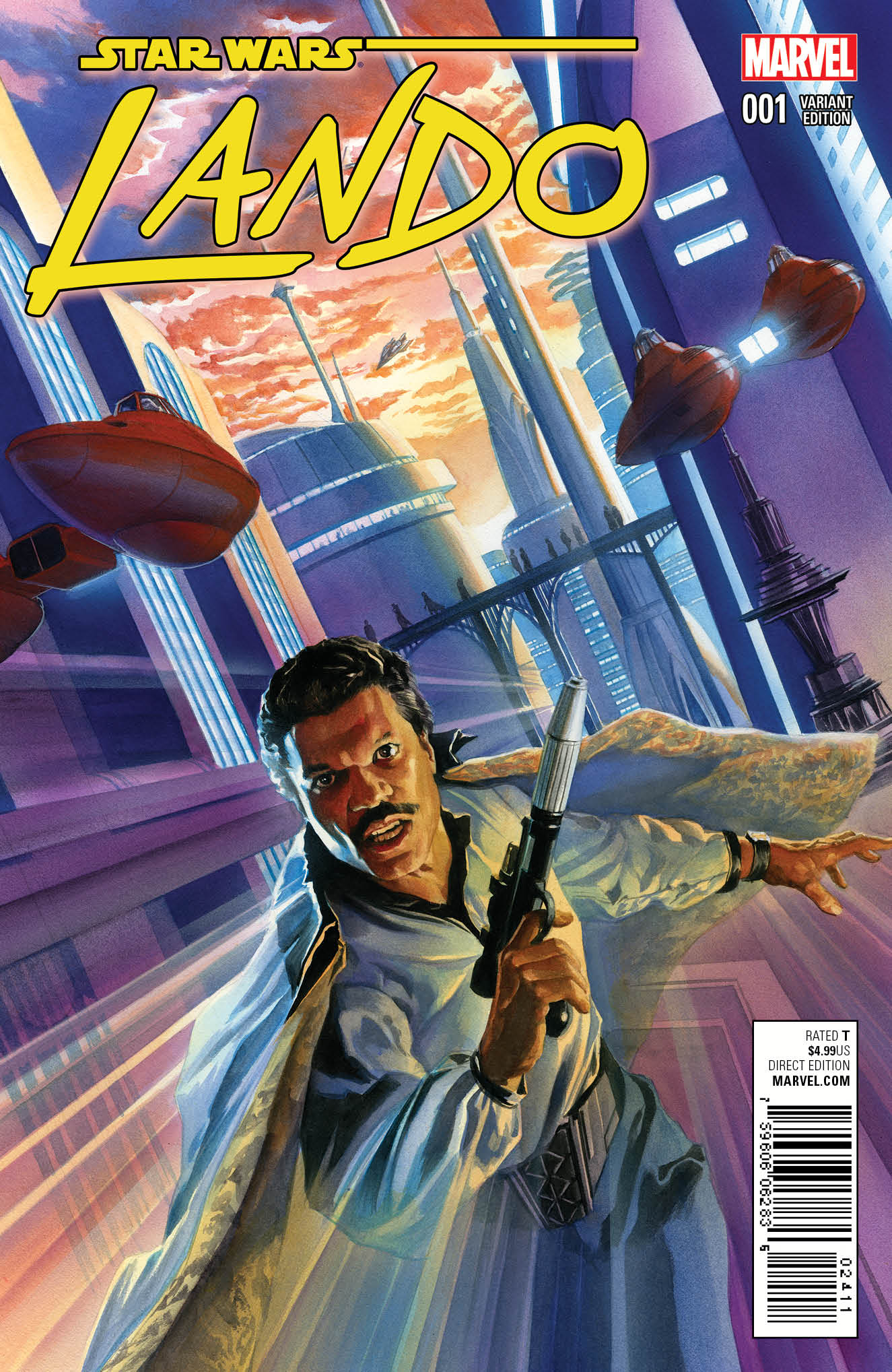 Lando #1 (Alex Ross Variant Cover) (08.07.2015)