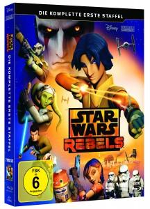 Star Wars Rebels: Staffel 1 (Blu-ray, 10.09.2015)