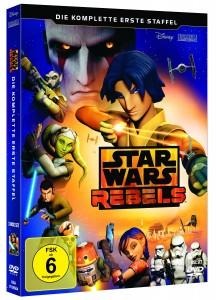 Star Wars Rebels: Staffel 1 (DVD, 10.09.2015)