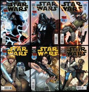 Star Wars #1-6 Humberto Ramos Connecting Variant Cover