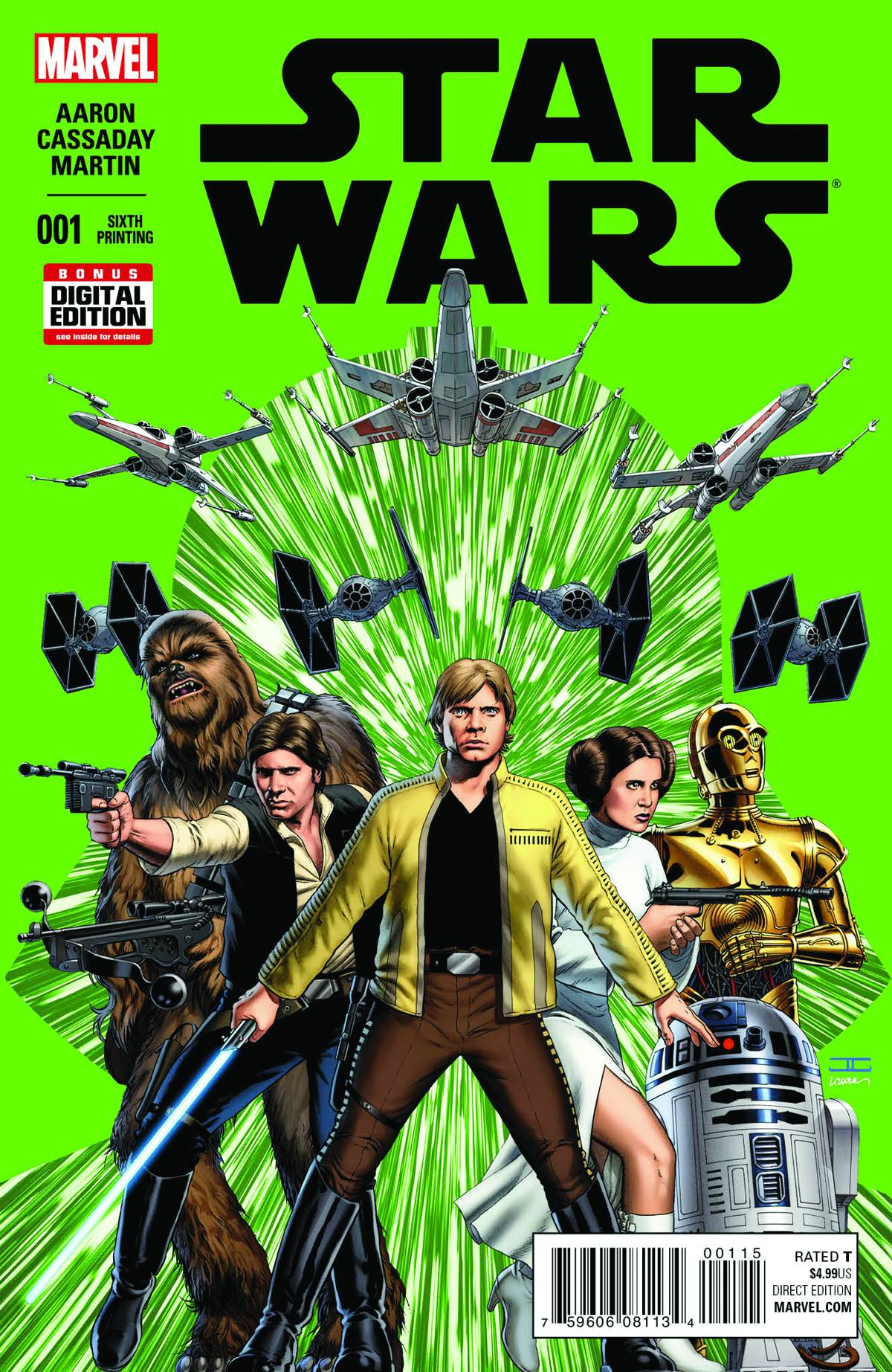 Star Wars #1 (6th Printing) (08.07.2015)