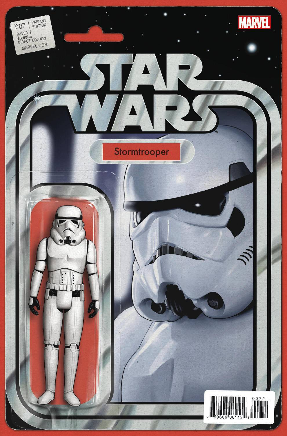 Star Wars #7 (Action Figure Variant Cover) (29.07.2015)