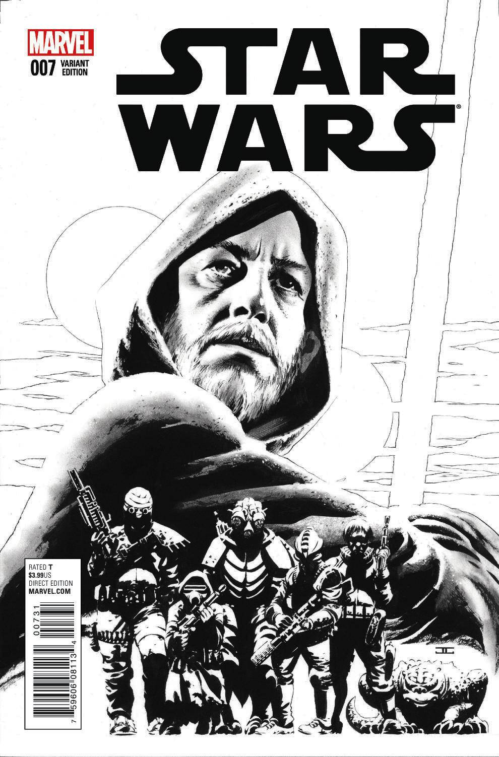 Star Wars #7 (John Cassaday Sketch Variant Cover) (29.07.2015)