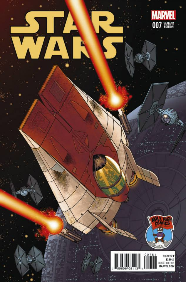 Star Wars #7 (Mike McKone Mile High Comics Connecting Variant Cover) (29.07.2015)