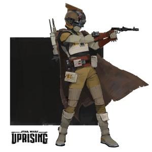 Ein Nomaden-Kopfgeldjäger in Uprising