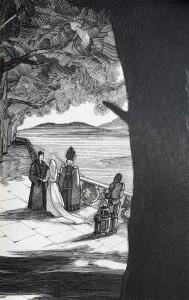 Ikonische Szenen werden in Ian Doeschers Werken im elisabethanischen Stil neu interpretiert.