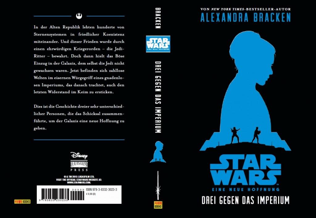 Eine neue Hoffnung: Drei gegen das Imperium (Umschlag)