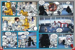 LEGO Star Wars Magazin #1 - Vorschau Seiten 26 und 27 (04.07.2015)