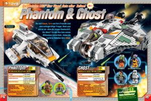 LEGO Star Wars Magazin #1 - Vorschau Seiten 14 und 15 (04.07.2015)