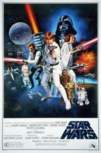 Poster-Beilage der Star Wars Trilogy-Ausgabe von B&N