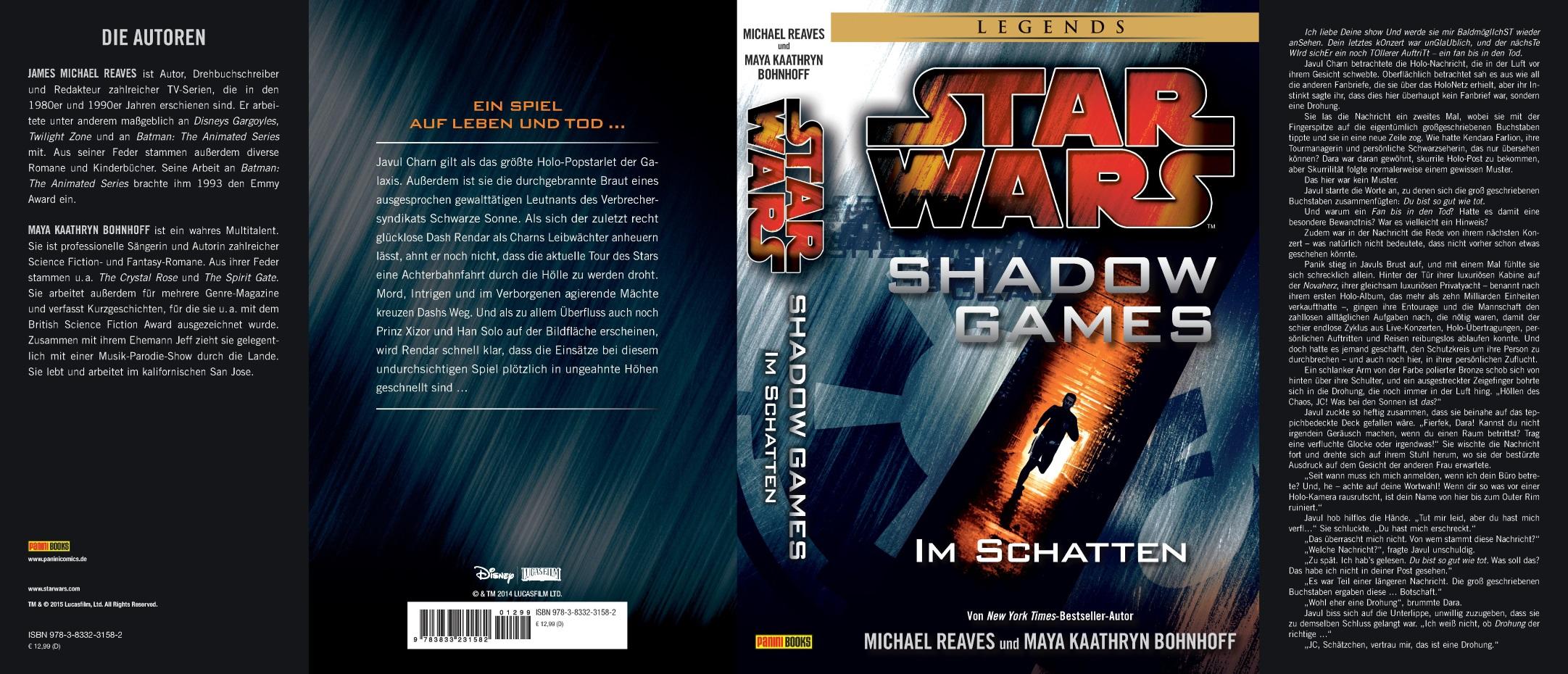 Shadow Games - Im Schatten (Umschlag)