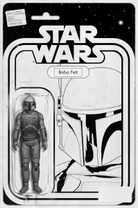 Star Wars #7 (JTC Boba Fett Black & White Action Figure Variant Cover) (29.07.2015)