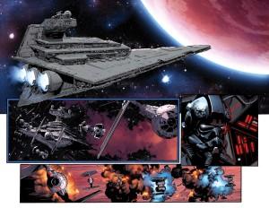 Star Wars #8 Vorschauseite 1 (Doppelseite)