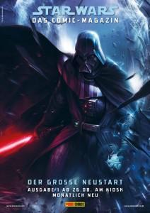 A3-Poster zum Star Wars-Neustart bei Panini