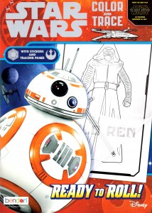 Star Wars: The Force Awakens: Ready to Roll - Color & Trace Book (04.09.2015)