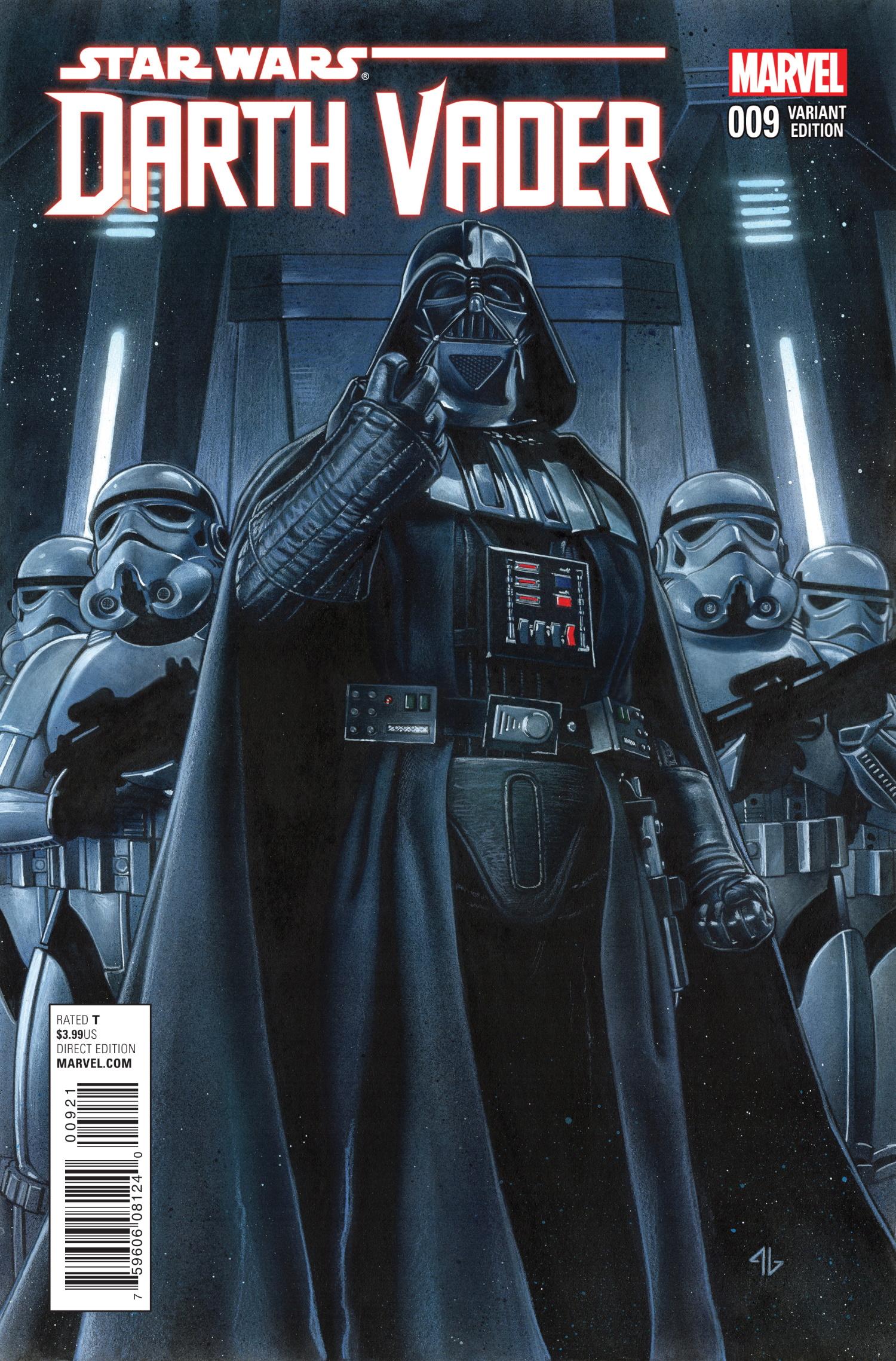 Darth Vader #9 (Adi Granov Variant Cover) (09.09.2015)