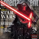 Entertainment Weekly mit Kylo Ren