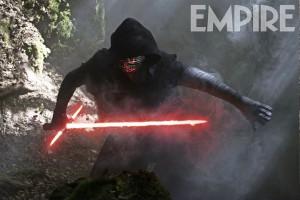 Star Wars: The Force Awakens - Kylo Ren (Adam Driver) Ph: David James ©Lucasfilm 2015