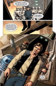 Star Wars #1 Vorschauseite 1