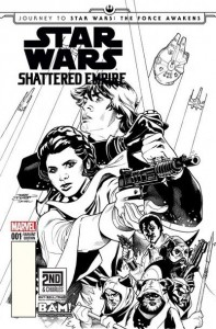 Shattered Empire #1 (Terry Dodson 2nd & Charles/Books-A-Million Sketch Variant Cover) (09.09.2015)