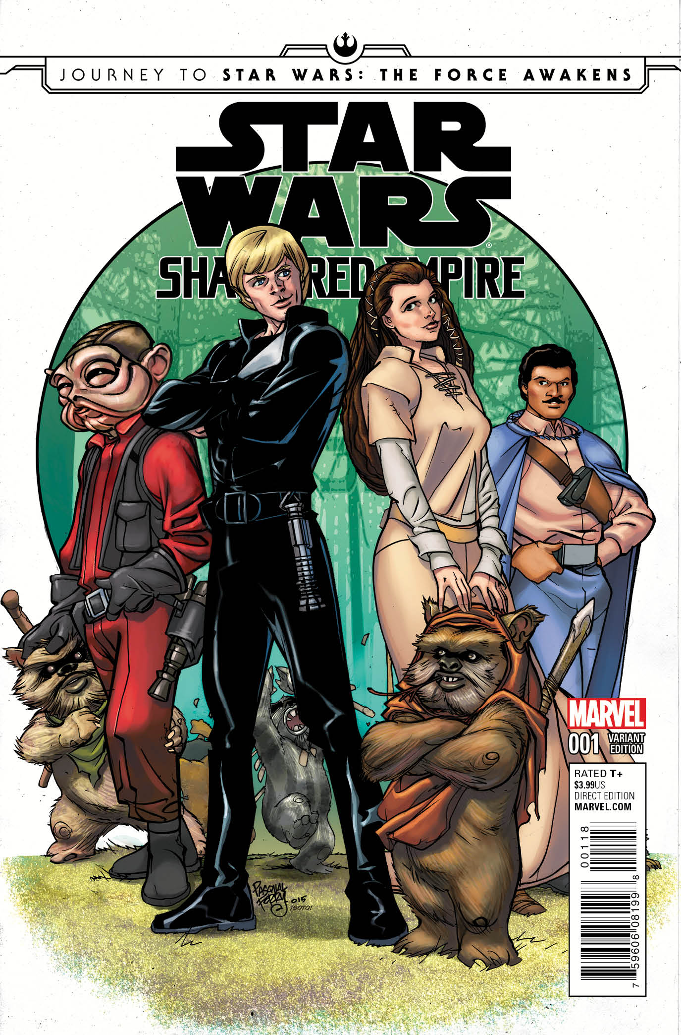 Shattered Empire #1 (Pasqual Ferry Variant Cover) (09.09.2015)