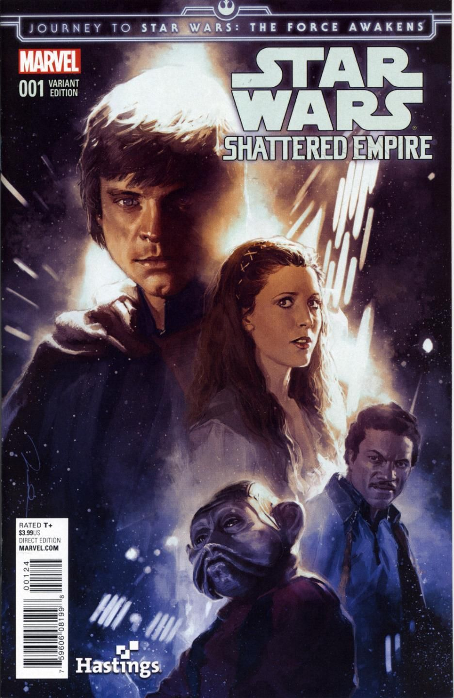 Shattered Empire #1 (Gerald Parel Hastings Variant Cover) (09.09.2015)