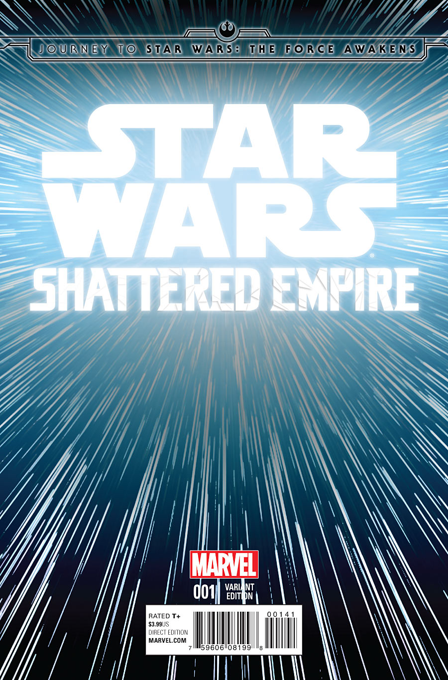 Shattered Empire #1 (Hyperspace Variant Cover) (09.09.2015)